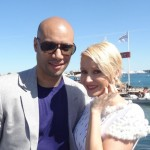 Les amoureux de la croisette, Tatiana-Laurens Delarue et Xavier Delarue, se sont confiés à Stars-media sur la plage Majestic 66