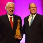 Le 53ème Festival de Festival de Télévision de Monte-Carlo récompense la carrière de Donald Suhterland.