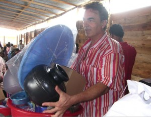 Christian en mission humanitaire au Sri Lanka