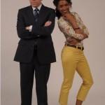 Nouvelle rencontre entre Sara Martins et Stars-media pour la série «Meurtres au Paradis», à partir du 22 Juillet sur France 2.