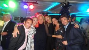 De gauche à droite : Laurent Amar, Grâce de Capitani, Massimo Gargia, Monica Tozzi, Roberta Turri et Jean-Pierre Jacquin