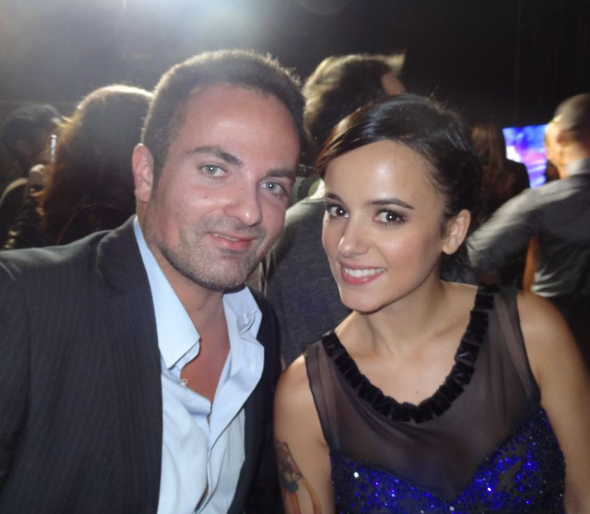 Laurent Amar et Alisée