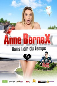 Le spectacle de Anne Bernex