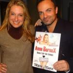 Stars-Media vous présente l'irrésistible Anne Bernex, bientôt au théâtre Le Temple à Paris