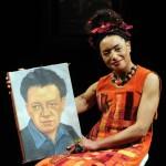 Lupe Velez, qui incarne l'artiste peintre Frida Kahlo au Théâtre Dejazet, s'est confiée à Stars-media