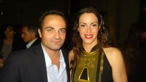 Laurent Amar et Sarah Vernette