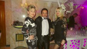 De gauche à droite : Grâce de Capitani, Laurent Amar et Celyne Durand