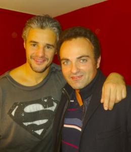 Farid Khider et Laurent Amar au Théâtre du Gymnase
