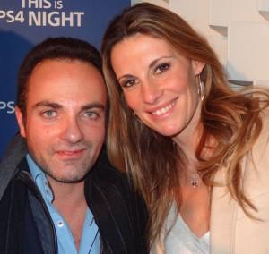 Laurent Amar et Sophie Thalmann. Crédit photo : stars-media.fr