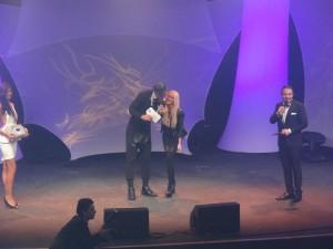 De gauche à droite : Xavier Delarue, Tatiana Laurens Delarue et Laurent Artufel