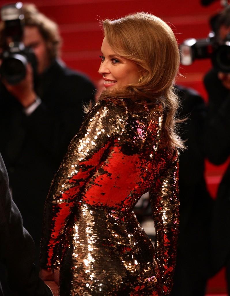 la star mondiale Kylie Minogue, invitée d'honneur de la soirée du 21 Mai prochain.