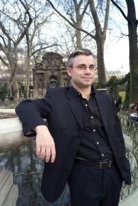 L'écrivain Luc Mary