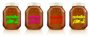 Les pots collector Nutella