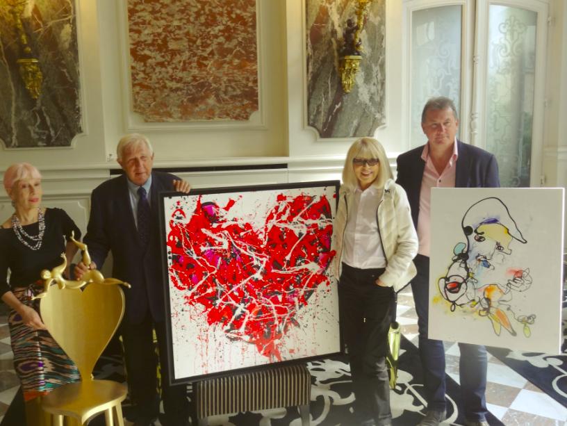 Marie Beltrami, Alain Deloche, Mireille Darc et Yves Clément