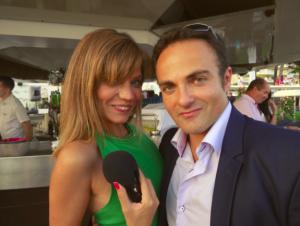 Carolyn Paul et Laurent Amar à la soirée Try Me
