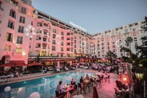 L'hôtel Majestic Barrière Cannes.