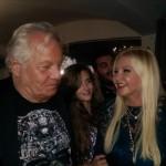 «Le lion rugissant» Massimo Gargia a fêté ses 74 ans à Saint-Tropez.