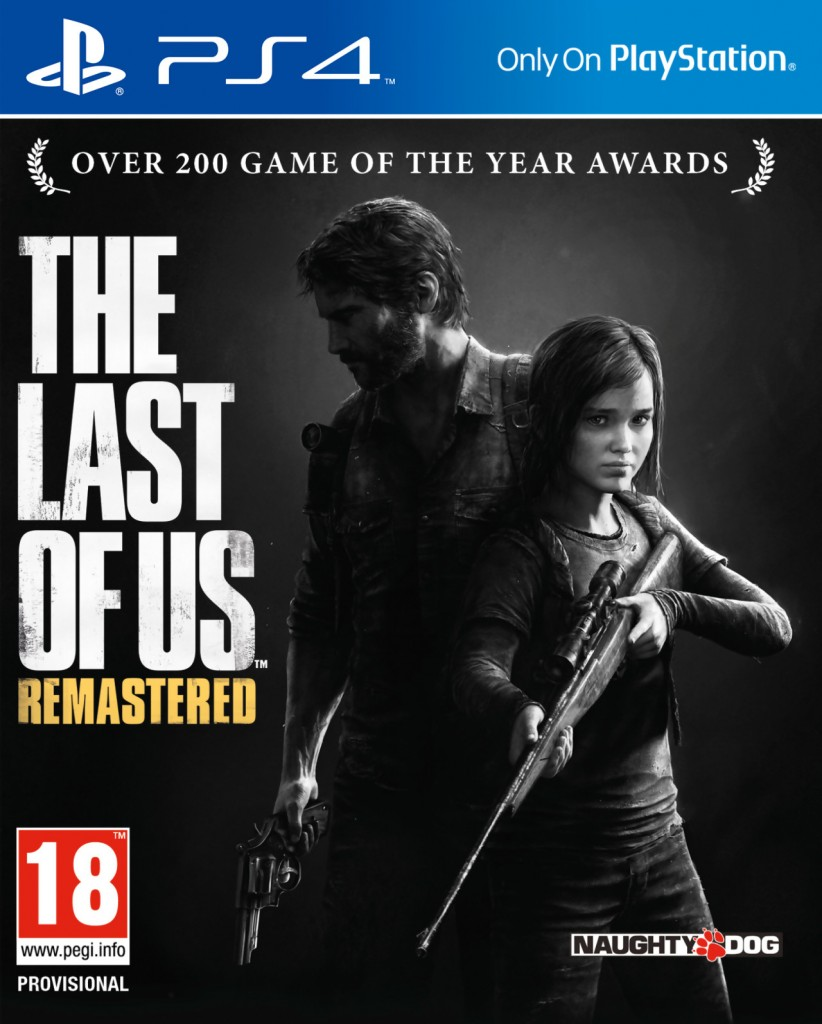 The Last of Us Remastered sur PS4.