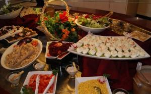 Au club La Gaillarde, c'est buffet à volonté.