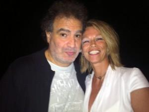 Raphaël Mezrahi et  Véronique Barbe
