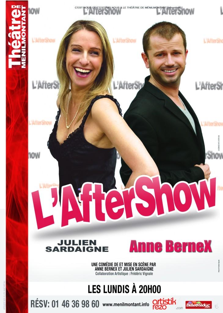 Anne Bernex et son complice Julien Sardaigne dans L'AfterShow