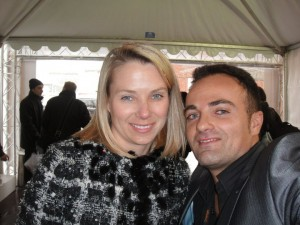 Marissa Meyer et Laurent Amar