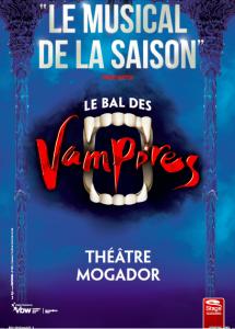 Le Bal des Vampires au Théâtre Mogador.