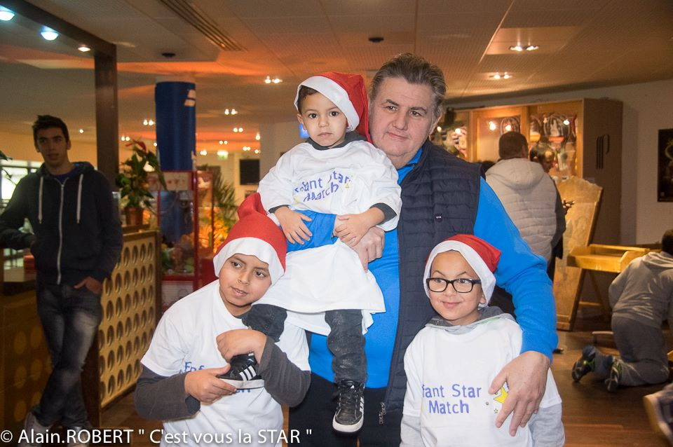 Pierre Menez et les enfants malades