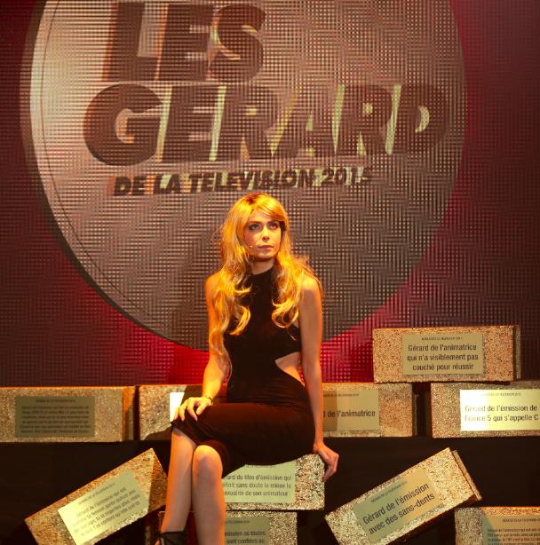 l'irrésistible Emilie Arthapignet. Crédit photo : © Aurelien FAIDY/PARIS PREMIERE