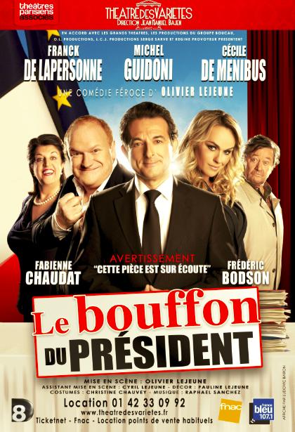 Le Bouffon du président, affiche officielle.