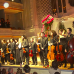 Soirée de Gala de l'association «Enfance Majuscule»: le violon au secours de l'enfance maltraitée