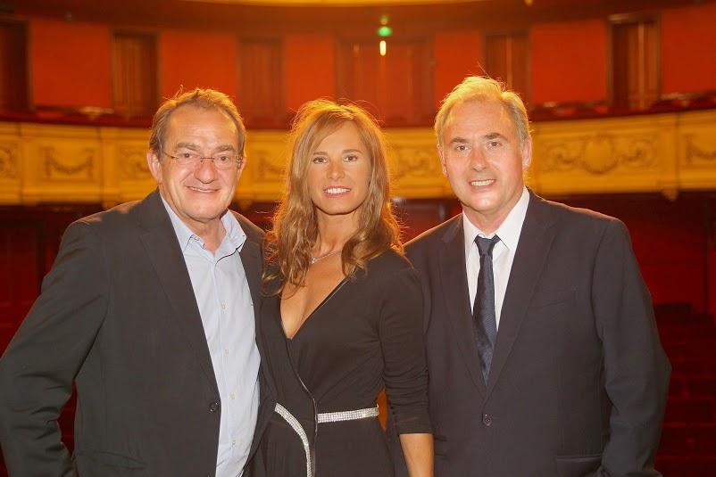 La fine équipe de Piège à Matignon Jean-Pierre Pernaut, Nathalie Pernaut-Marquay et Philippe Rissoli