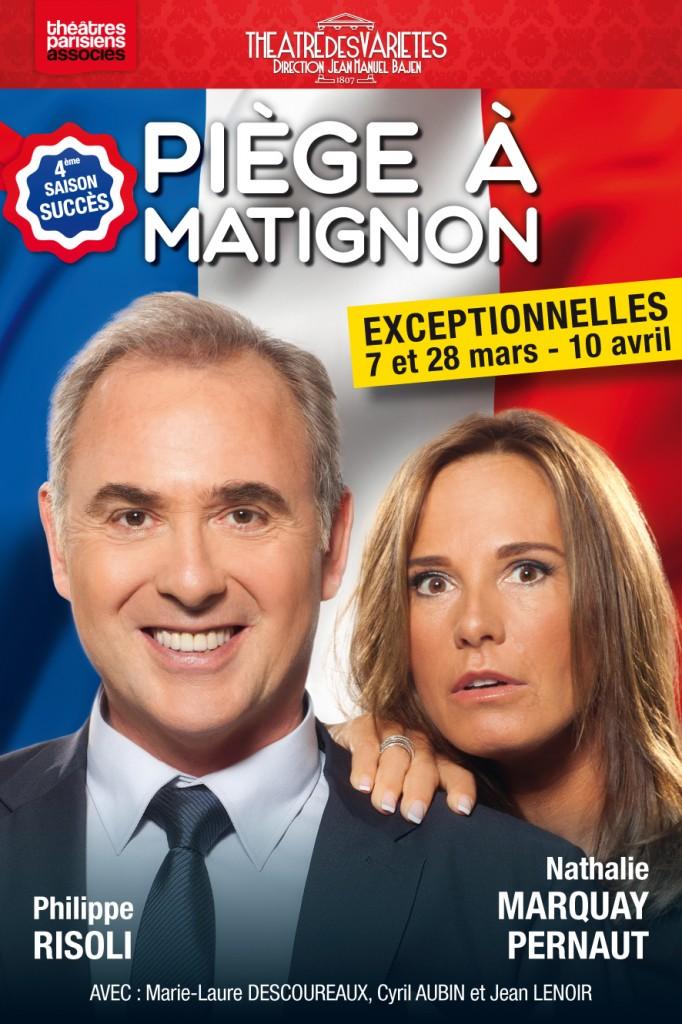 Affiche officielle de  Piège à Matignon.