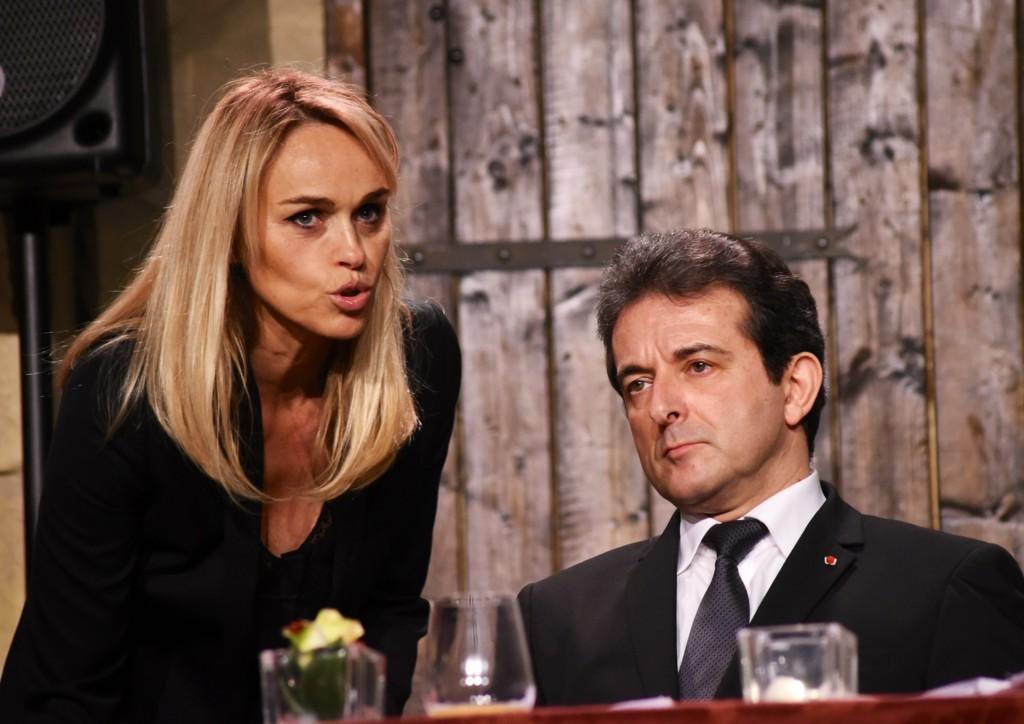 Cécile De Ménibus et Michel Guidoni.