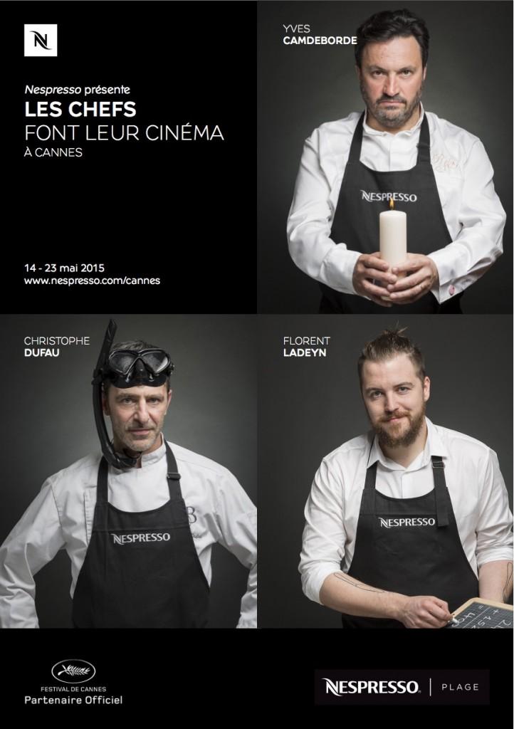 Yves Camdeborde, Christophe Dufau & Florent Ladeyn.