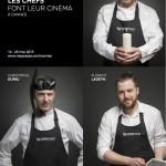 68e Festival de Cannes: De grands chefs feront leur cinéma chez Nespresso.
