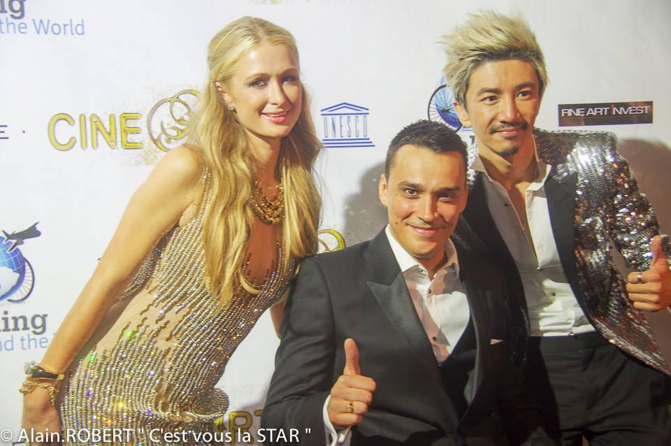 Paris Hilton et Alexandre Bodart Pinto