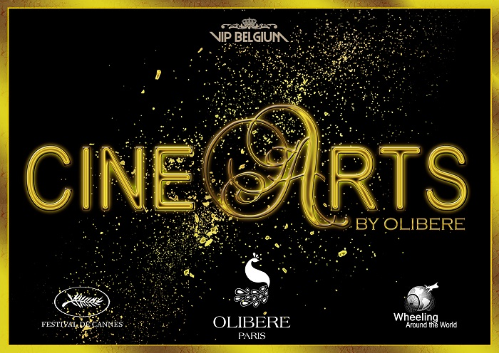 "Affiche officiel de la soirée ""CINE ARTS BY OLIBERE"""