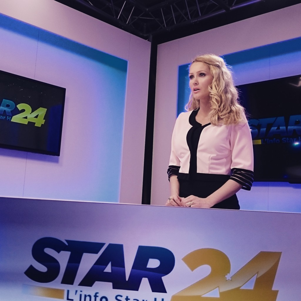 Tatiana Laurens Delarue sur le plateau flambant neuf de Star24