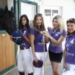 L'équipe de Polo Charriol remporte «l'Open des Dames», en présence de son ambassadrice, Marie-Olga Charriol, et de Célyne Durand