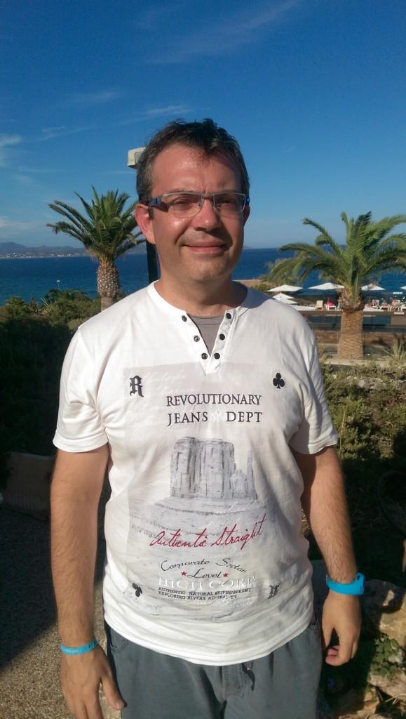 Le magicien Frédéric Denis, au Club La Gaillarde Les Issambres