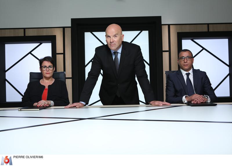 De gauche à droite: Nathalie Cayuela, Bruno Bonnell et Salim Azouzi.