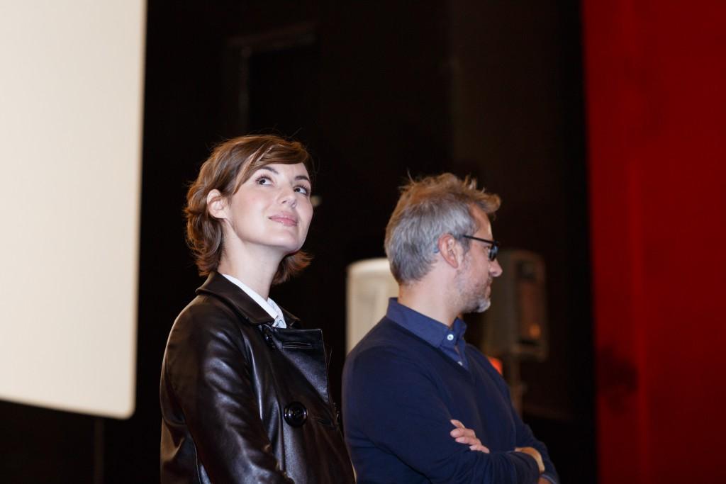 Louise Bourgoin et Laurent Larivière à Brides Les bains