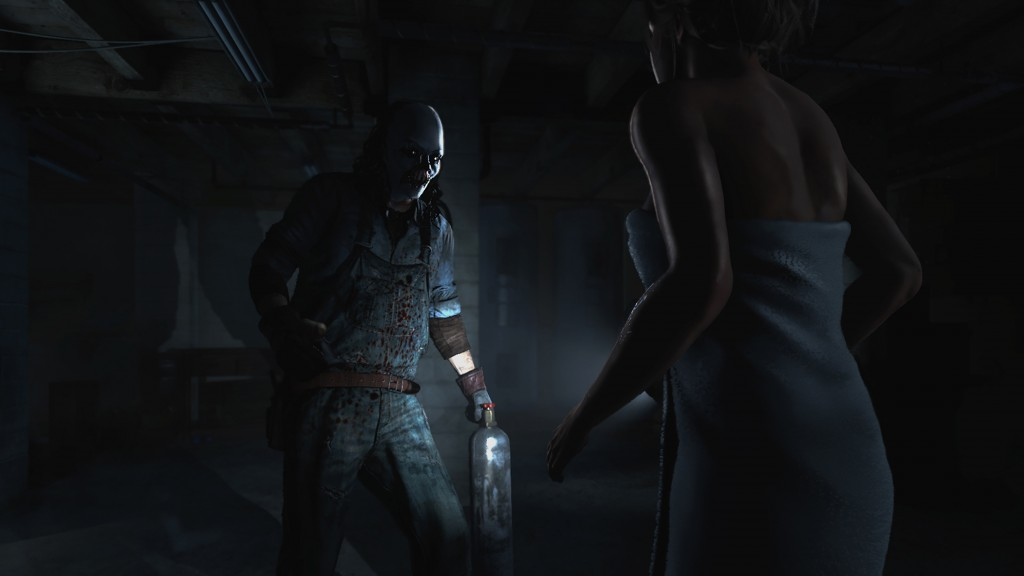 La belle Samantha face au tueur fou de Until Dawn