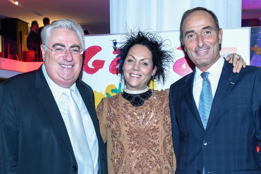 Jean-Michel Aubrun, Hermine de Clermont-Tonnerre et Hervé Michel-Dansac