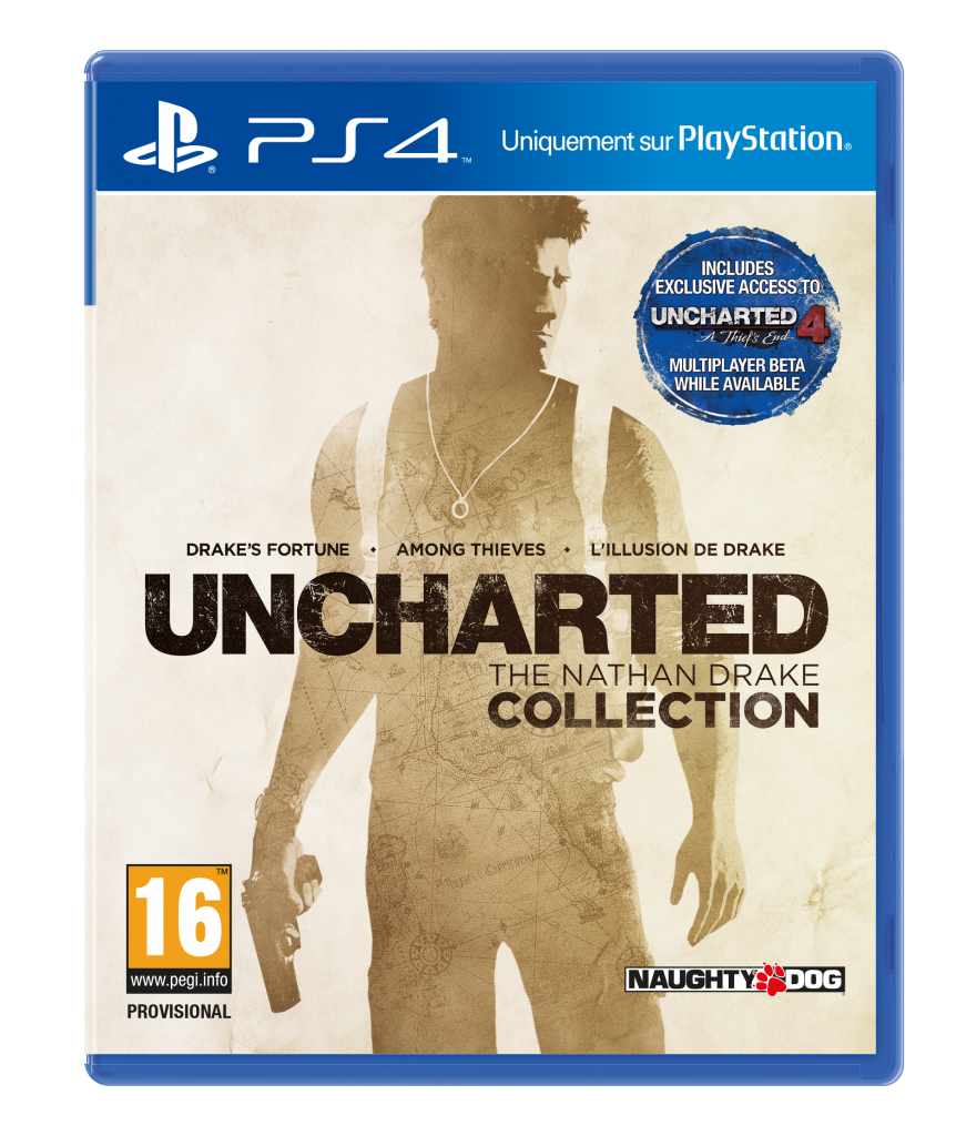 Uncharted Collection, exclusivement sur PS4
