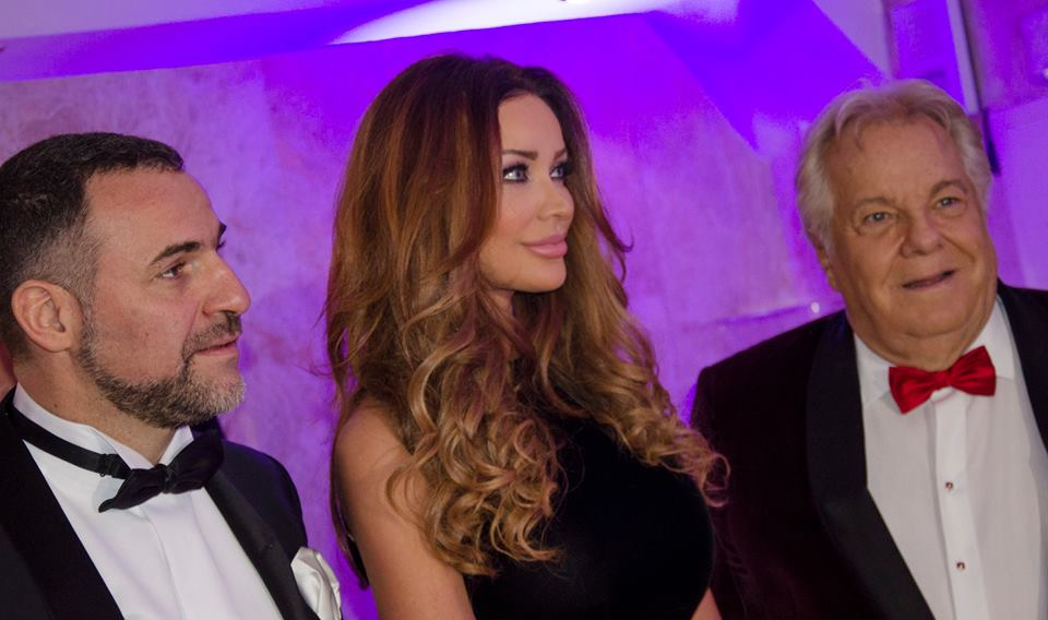De gauche à droite: Cédric Magnin, Bianca Dragusanu et Massimo Gargia