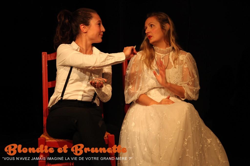 Faustine dans Blondie et Brunette