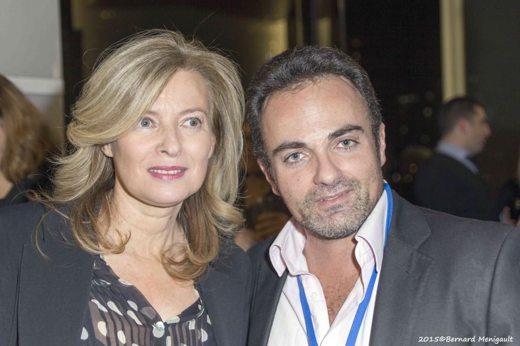 Valérie Trierweiler et Laurent Amar