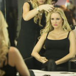 L'animatrice de «Star24», Tatiana-Laurence Delarue, égérie du prestigieux salon de coiffure : «HairGlam» Paris, by Tania.